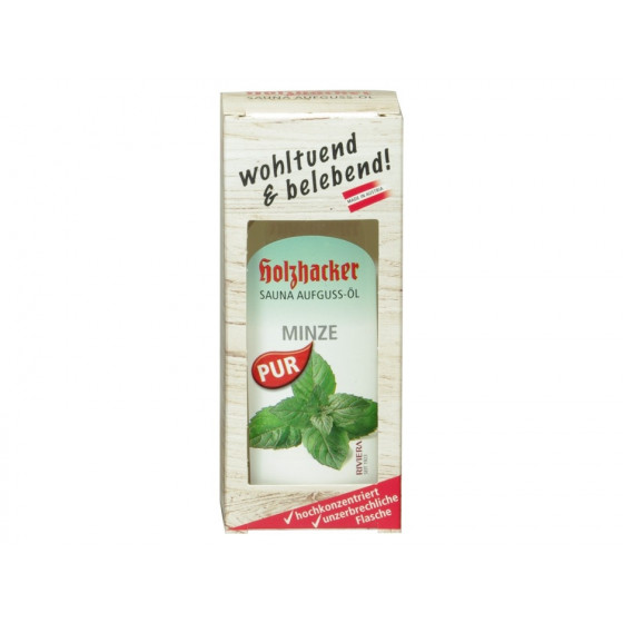Sauna Aufguss-Öl Minze 75 ml