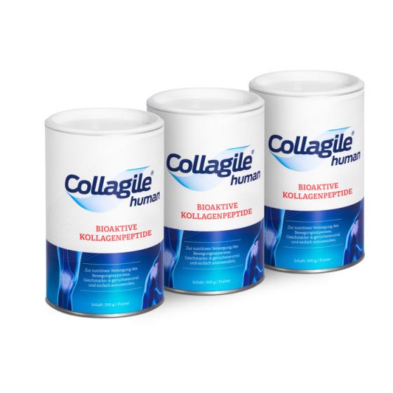 3 x COLLAGILE® HUMAN